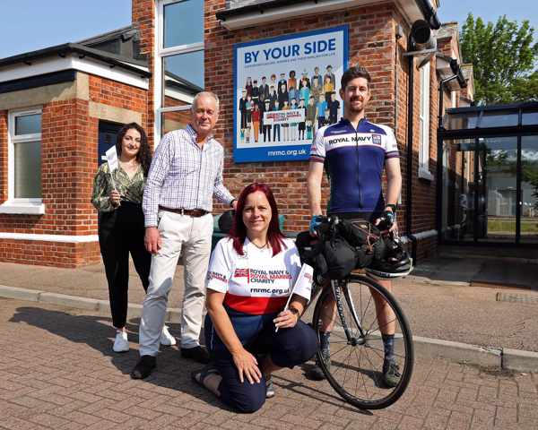 Pascal from Stars and Spokes with RNRMC CEO, Adrian Bell and Hilary Hesbrook