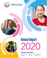 2020 COPE Galway annual report cover